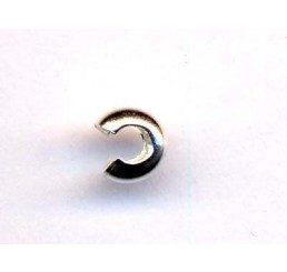 coprischiaccino diametro mm 3 - ag 925 - conf 10 pz