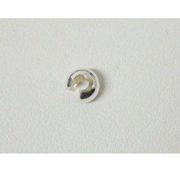 coprischiaccino diametro mm 4 - ag 925 - conf 6 pz