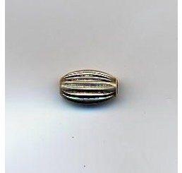 ovalina rigata mm. 6 - ag 925 - conf 4 pz