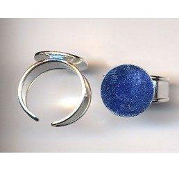 base regolabile per anello mm 10 - bagnato oro giallo