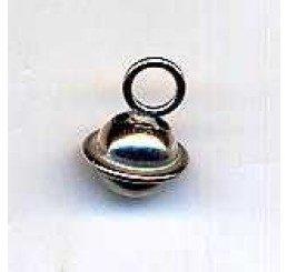 Pendente a forma di campanello in bronzo mm. 8