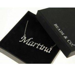 collana con nome - martina