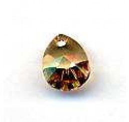 swarovski - pendente goccia 12x9 mm - crystal  Gsha