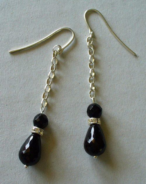 Fare orecchini perline creare gioielli fai da te for Orecchini con pietre dure fai da te