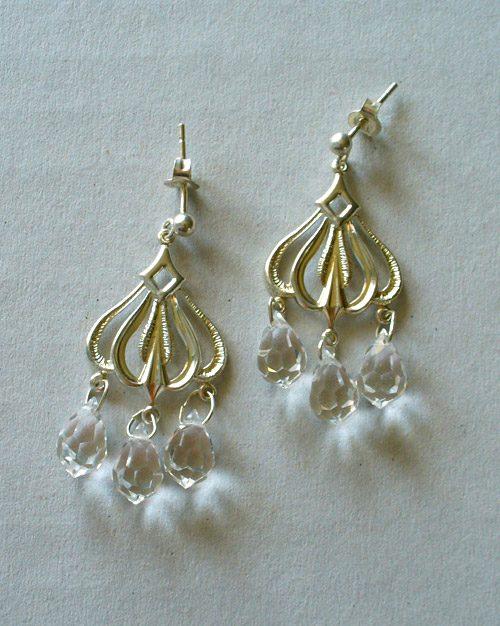 Estremamente Orecchini con perline e Swarovski di Mariagrazia Sera – Perline  TZ86