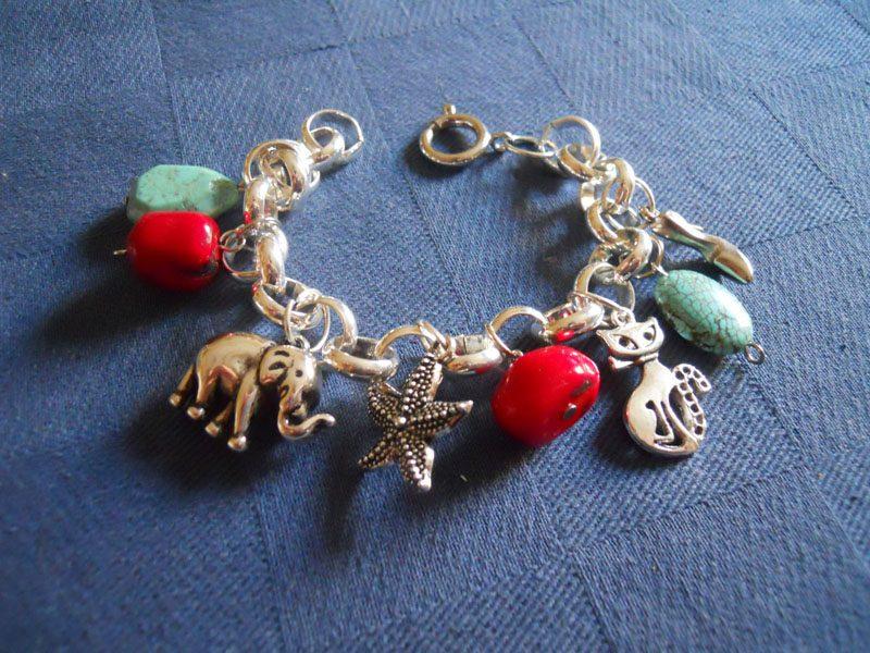 Fare bracciale perline creare gioielli fai da te for Orecchini con pietre dure fai da te