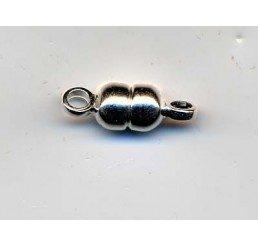 chiusura calamita diametro mm. 5 - argento 925 - conf. 1 pz.