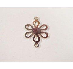 maglia fiore con anellini - ag 925 - conf 2 pz