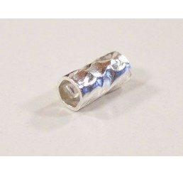 tubetto martellato mm. 3,50 - ag 925 - conf 8 pz
