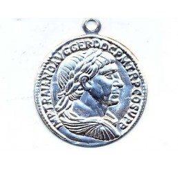 pendente moneta mm.24 - ag 925 - conf 1 pz