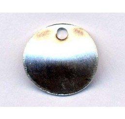 pendente circolare mm. 10 -ag 925 - conf 4 pz