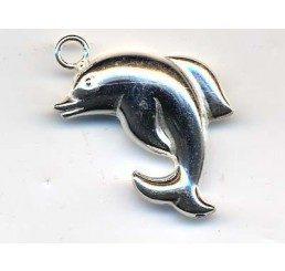 pendente a forma di delfino -ag925 - conf 1 pz