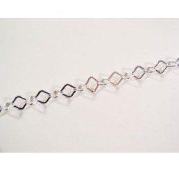 catena maglia rombo - mm 7