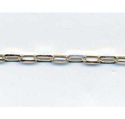 catena maglia rettangolare mm 2x4
