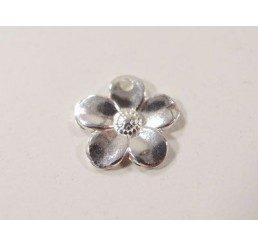pendente fiore - ag dorato - conf 4 pz
