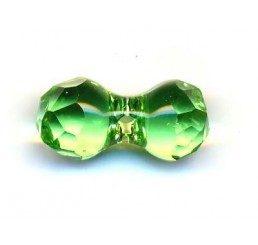 swarovski - modular beads mm. 11x6 peridot