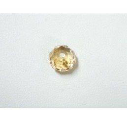 swarovski - briolette mm. 6 - crystal gsha