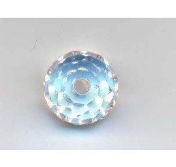 swarovski - briolette mm. 6 - crystal ab