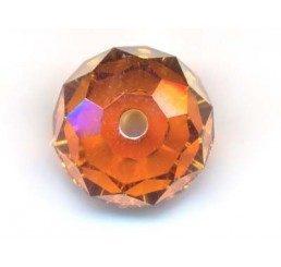 swarovski - briolette mm. 8 - crystal cooper