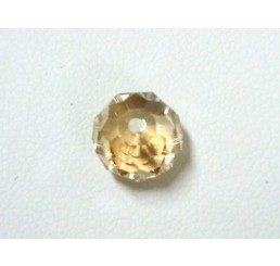 swarovski - briolette mm. 8 - crystal gsha
