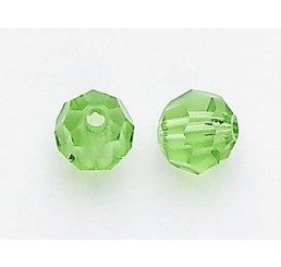 swarovski - perlina peridot  - mm. 5