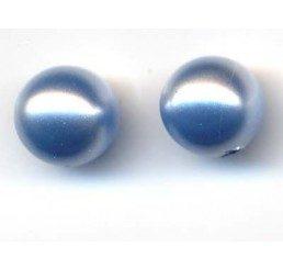 perla swarovski ad un foro mm. 6 - light blue
