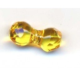 swarovski - modular beads mm. 11x6 light topaz