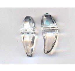 swarovski - aquiline bead - mm 18  crystal