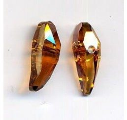 swarovski - aquiline bead - mm 18  copper