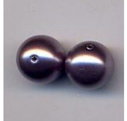 perla swarovski mm  10- mauve
