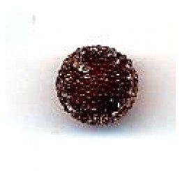 candy bead 10 mm - marrone