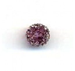 candy bead 6,5 mm - viola