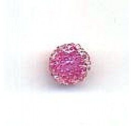candy bead 6,5 mm - rosa