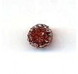 candy bead 6,5 mm - marrone