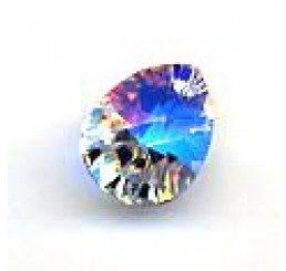 swarovski - pendente goccia 12x9 mm - crystal ab