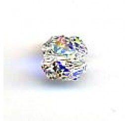 quadrifoglio swarovski crystal ab mm. 8