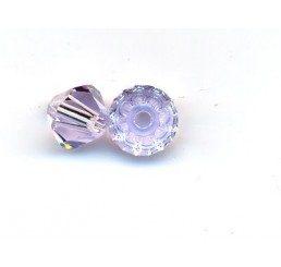 swarovski - bi-cono violet mm 4