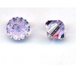 swarovski - bi-cono violet mm 5