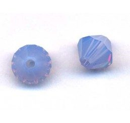 swarovski - bi-cono crystal air blue opal mm. 5