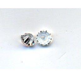 swarovski - bi-cono crystal mm. 3
