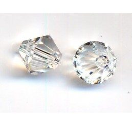 swarovski - bi-cono crystal mm. 5