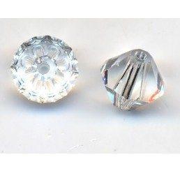 swarovski - bi-cono crystal mm. 6