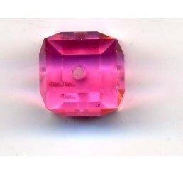 swarovski - cubo rose mm. 8