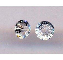 swarovski - bicono schiacciato crystal mm. 5