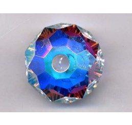 swarovski - briolette mm. 18 - crystal ab