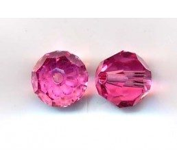 swarovski - perlina rose mm. 8