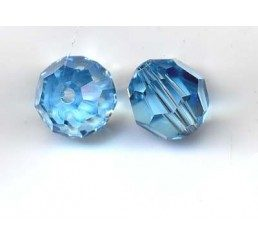 swarovski - perlina aquamarine mm. 8
