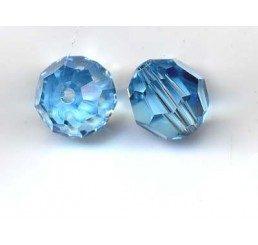 swarovski - perlina aquamarine mm. 8