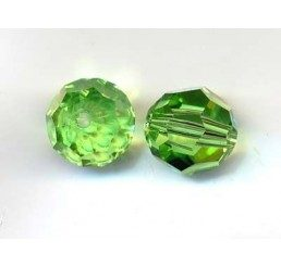 swarovski - perlina peridot mm.8