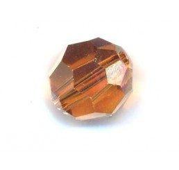 swarovski - perlina crystal copper mm. 8